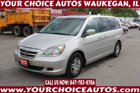 2006 Honda Odyssey for sale at Your Choice Autos - Waukegan in Waukegan IL