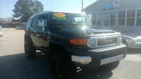 2008 Toyota FJ Cruiser for sale at Kelly & Kelly Supermarket of Cars in Fayetteville NC