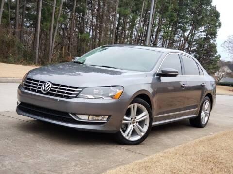 2013 Volkswagen Passat for sale at M & A Motors LLC in Marietta GA