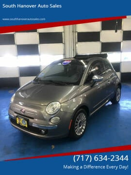 2012 FIAT 500c for sale at South Hanover Auto Sales in Hanover PA