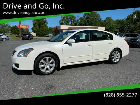 2007 Nissan Maxima for sale at Drive and Go, Inc. in Hickory NC