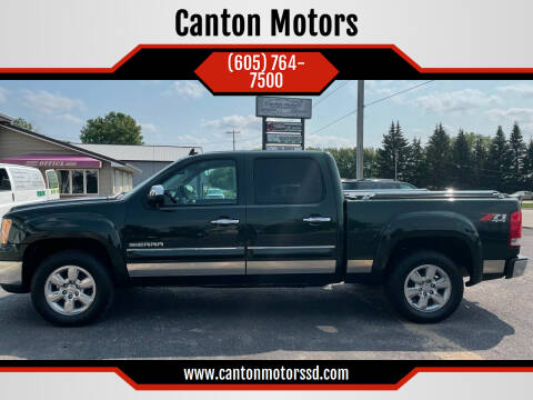 2013 GMC Sierra 1500 for sale at Canton Motors in Canton SD