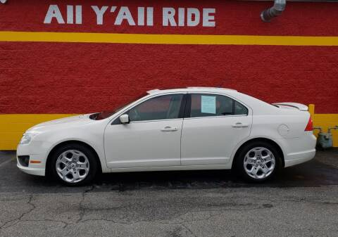 2011 Ford Fusion for sale at Big Daddy's Auto in Winston-Salem NC