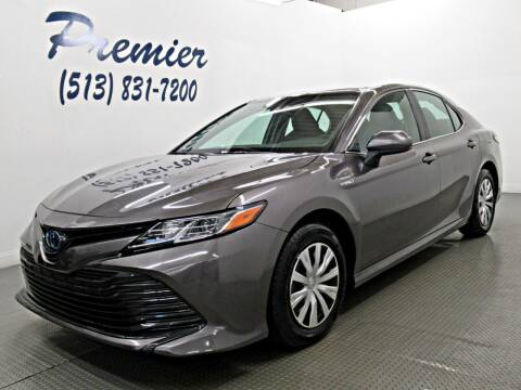 2019 Toyota Camry Hybrid for sale at Premier Automotive Group in Milford OH