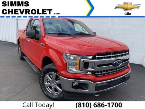 2018 Ford F-150 for sale at Aaron Adams @ Simms Chevrolet in Clio MI