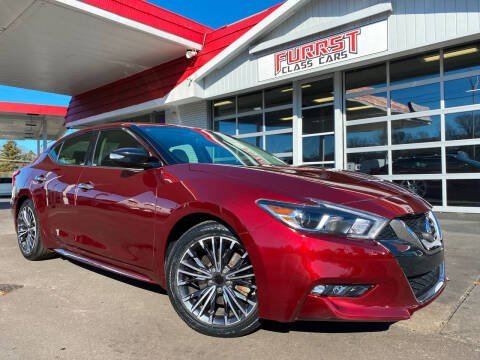 2017 Nissan Maxima for sale at Furrst Class Cars LLC in Charlotte NC