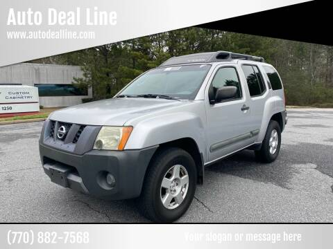 2006 Nissan Xterra for sale at Auto Deal Line in Alpharetta GA