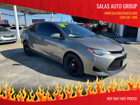 2018 Toyota Corolla for sale at Salas Auto Group in Indio CA
