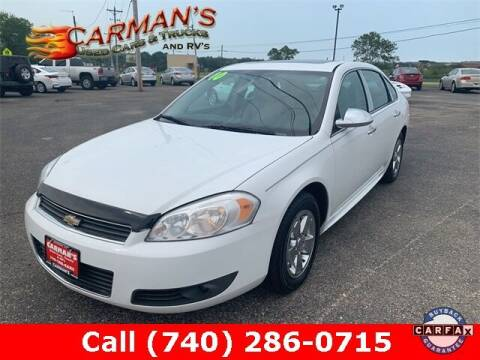 2010 Chevrolet Impala for sale at Carmans Used Cars & Trucks in Jackson OH