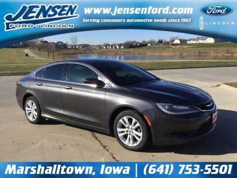 2015 Chrysler 200 for sale at JENSEN FORD LINCOLN MERCURY in Marshalltown IA