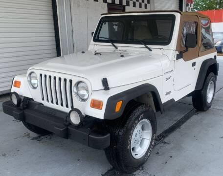 2002 Jeep Wrangler for sale at Tiny Mite Auto Sales in Ocean Springs MS