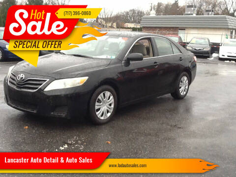 2010 Toyota Camry for sale at Lancaster Auto Detail & Auto Sales in Lancaster PA
