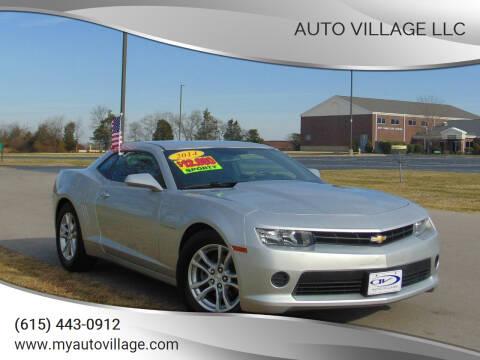 2014 Chevrolet Camaro for sale at AUTO VILLAGE LLC in Lebanon TN