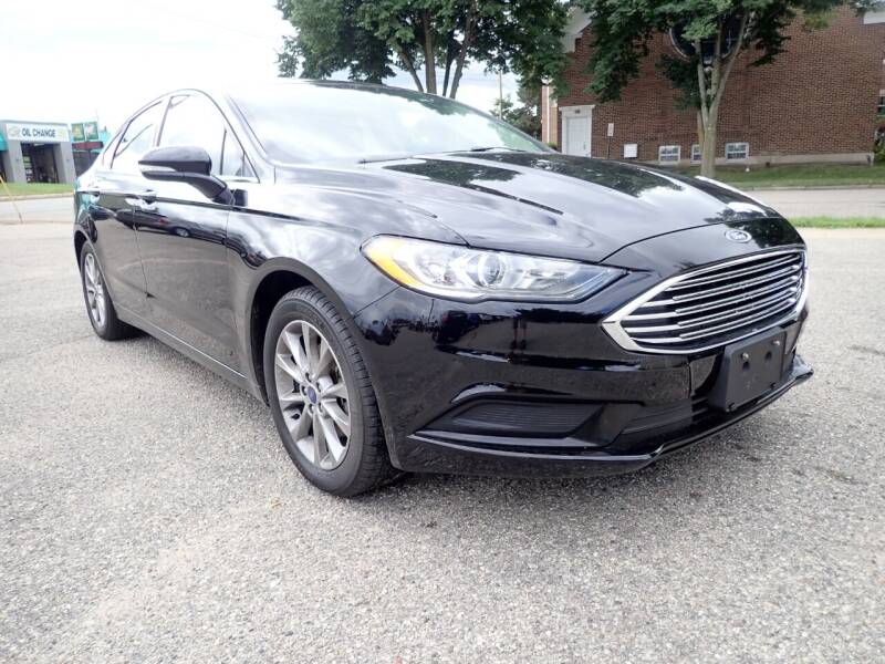 2017 Ford Fusion for sale at Marvel Automotive Inc. in Big Rapids MI