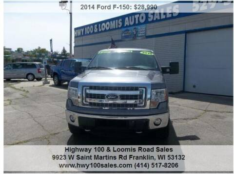 2014 Ford F-150 for sale at Highway 100 & Loomis Road Sales in Franklin WI