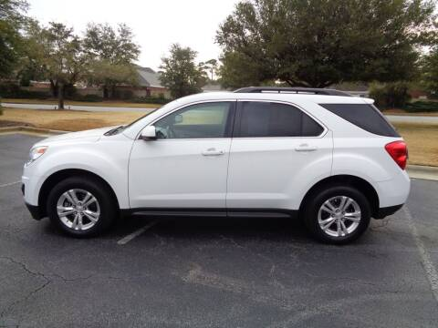 2015 Chevrolet Equinox for sale at BALKCUM AUTO INC in Wilmington NC