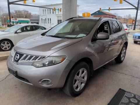 2009 Nissan Murano for sale at ROBINSON AUTO BROKERS in Dallas NC