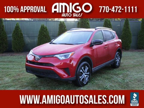 2016 Toyota RAV4 for sale at Amigo Auto Sales in Marietta GA