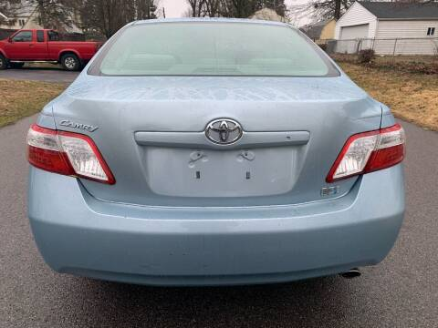 2009 Toyota Camry Hybrid for sale at Via Roma Auto Sales in Columbus OH