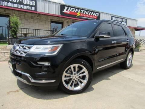 2018 Ford Explorer for sale at Lightning Motorsports in Grand Prairie TX