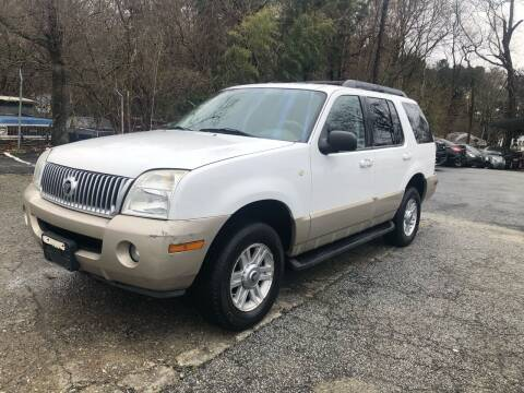 2005 Mercury Mountaineer for sale at Atlas Auto Sales in Smyrna GA