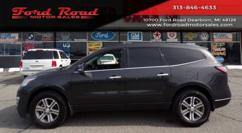 2016 Chevrolet Traverse for sale at Ford Road Motor Sales in Dearborn MI