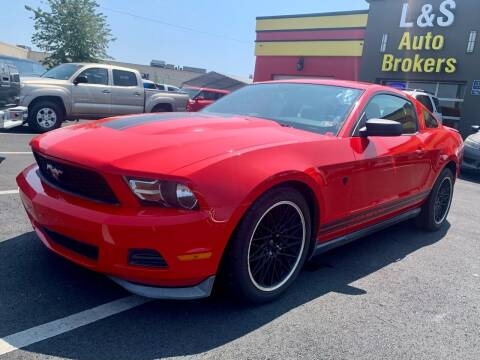 2011 Ford Mustang for sale at L & S AUTO BROKERS in Fredericksburg VA