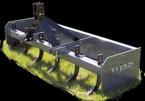 2020 titan box blades 4 ft 3104 for sale at DirtWorx Equipment - Attachments in Woodland WA
