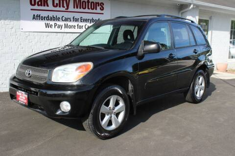 2005 Toyota RAV4 for sale at Oak City Motors in Garner NC