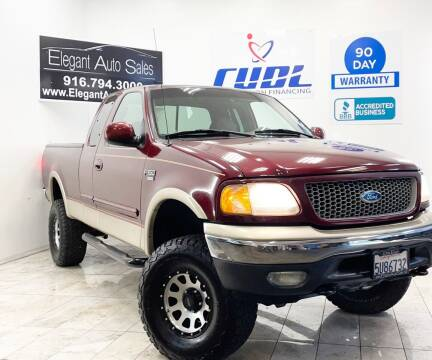 1999 Ford F-150 for sale at Elegant Auto Sales in Rancho Cordova CA
