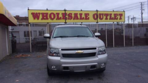 2007 Chevrolet Tahoe for sale at LONG BROTHERS CAR COMPANY in Cleveland OH