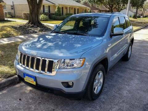 2013 Jeep Grand Cherokee for sale at Amazon Autos in Houston TX