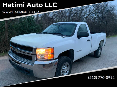 2009 Chevrolet Silverado 2500HD for sale at Hatimi Auto LLC in Buda TX