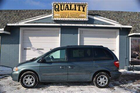 2005 Dodge Caravan for sale at Quality Pre-Owned Automotive in Cuba MO