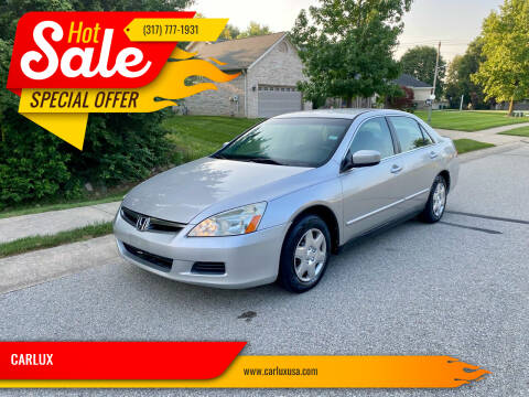 2006 Honda Accord for sale at CARLUX in Fortville IN