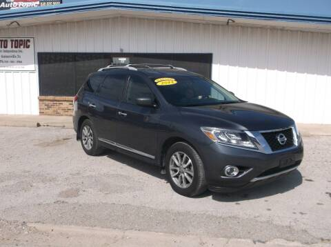 2014 Nissan Pathfinder for sale at AUTO TOPIC in Gainesville TX
