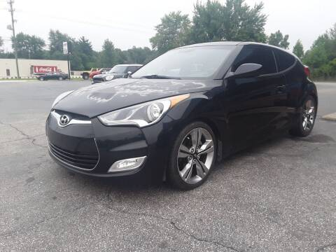 2012 Hyundai Veloster for sale at Cruisin' Auto Sales in Madison IN