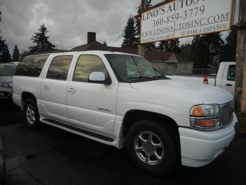 2003 GMC Yukon XL for sale at Lino's Autos Inc in Vancouver WA
