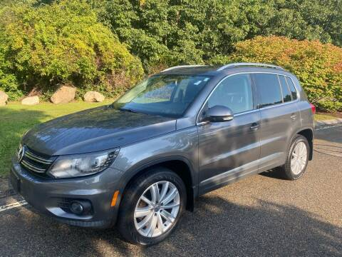 2016 Volkswagen Tiguan for sale at Padula Auto Sales in Braintree MA