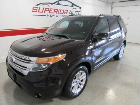 2013 Ford Explorer for sale at Superior Auto Sales in New Windsor NY