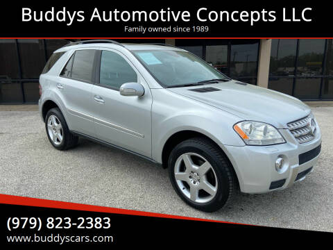 2006 Mercedes-Benz M-Class for sale at Buddys Automotive Concepts LLC in Bryan TX