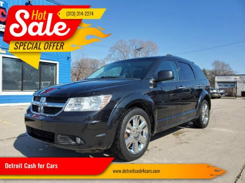 2010 Dodge Journey for sale at Detroit Cash for Cars in Warren MI