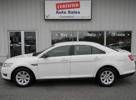 2010 Ford Taurus for sale at Certified Auto Sales in Des Moines IA