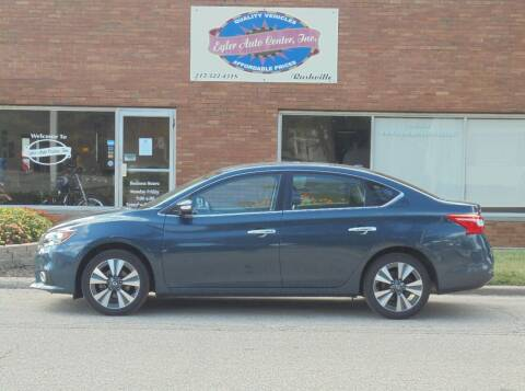 2017 Nissan Sentra for sale at Eyler Auto Center Inc. in Rushville IL