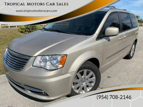 2015 Chrysler Town and Country for sale at Tropical Motors Car Sales in Deerfield Beach FL