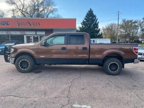 2011 Ford F-150 for sale at RIVERSIDE AUTO SALES in Sioux City IA