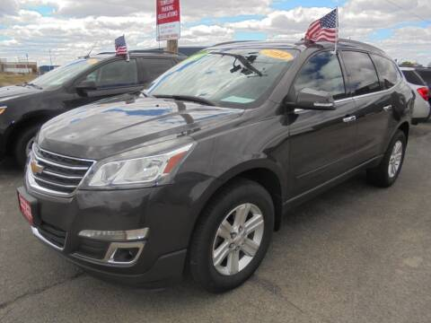 2014 Chevrolet Traverse for sale at Century Auto Sales LLC in Appleton WI