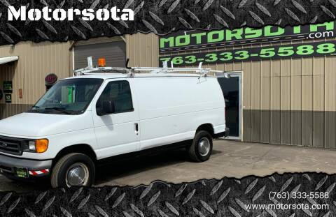 2006 Ford E-Series Cargo for sale at Motorsota in Becker MN
