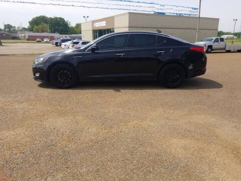 2012 Kia Optima for sale at Frontline Auto Sales in Martin TN