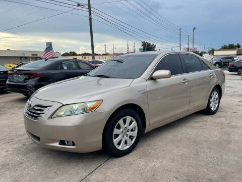 2009 Toyota Camry Hybrid for sale at P J Auto Trading Inc in Orlando FL